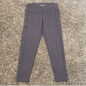 NWT Victoria Sport knockout grey tights size L